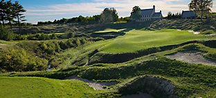 Straits at Whistling Straits - Hole 18 Dyeabolical
