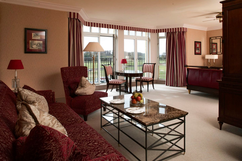 Eden Suite. Lounge area.