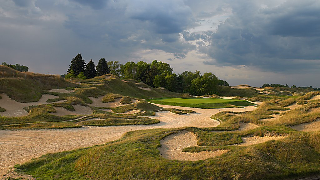Irish at Whistling Straits - Hole 6 Mulligan's Watch