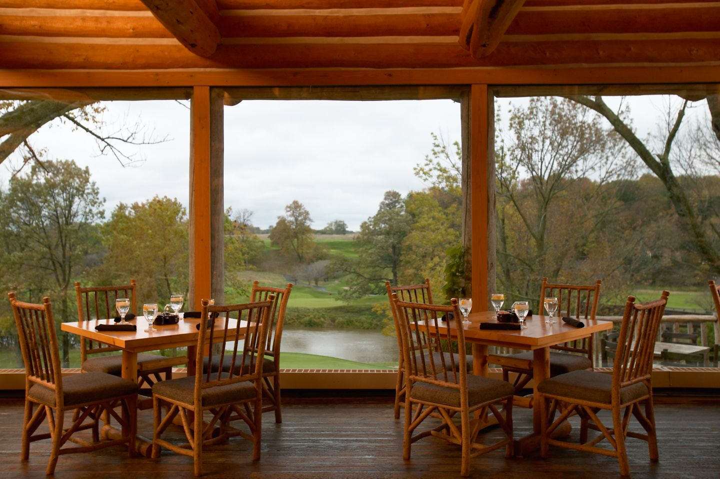Blackwolf Run Terrace Dining Room