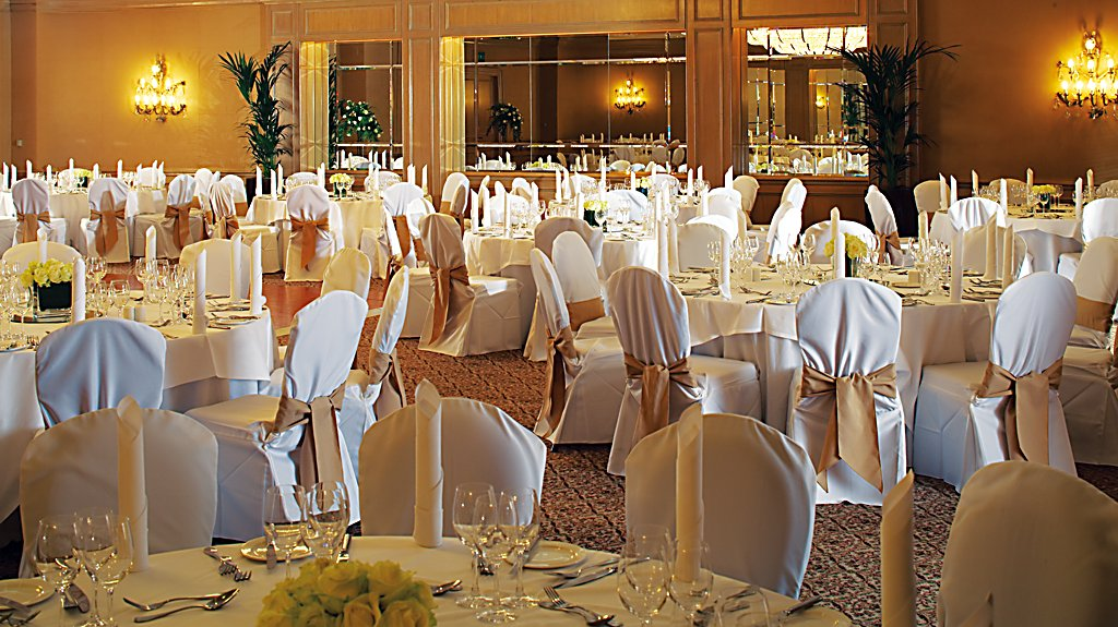 Tables in Ballroom