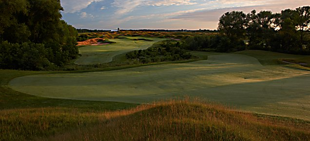 Irish at Whistling Straits - Hole 8 Garden Creek