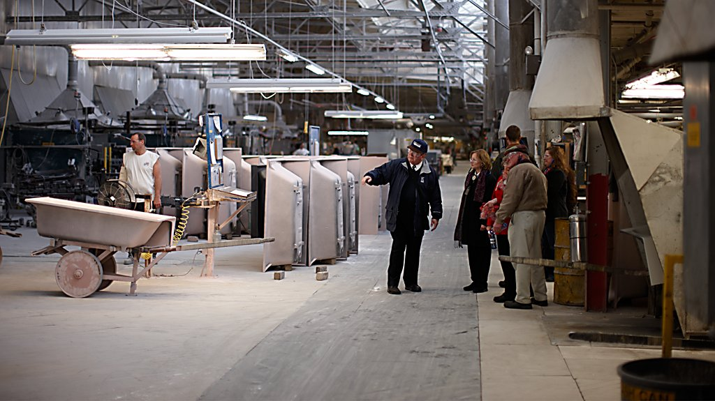 Kohler Co. Factory Tour