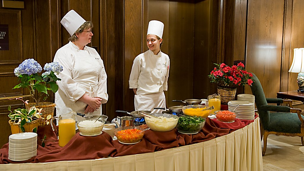 Buffet at The American Club