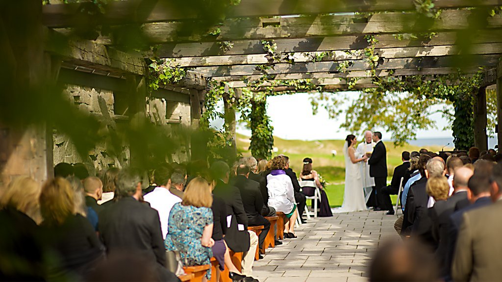 Whistling Straits Wedding Ceremony