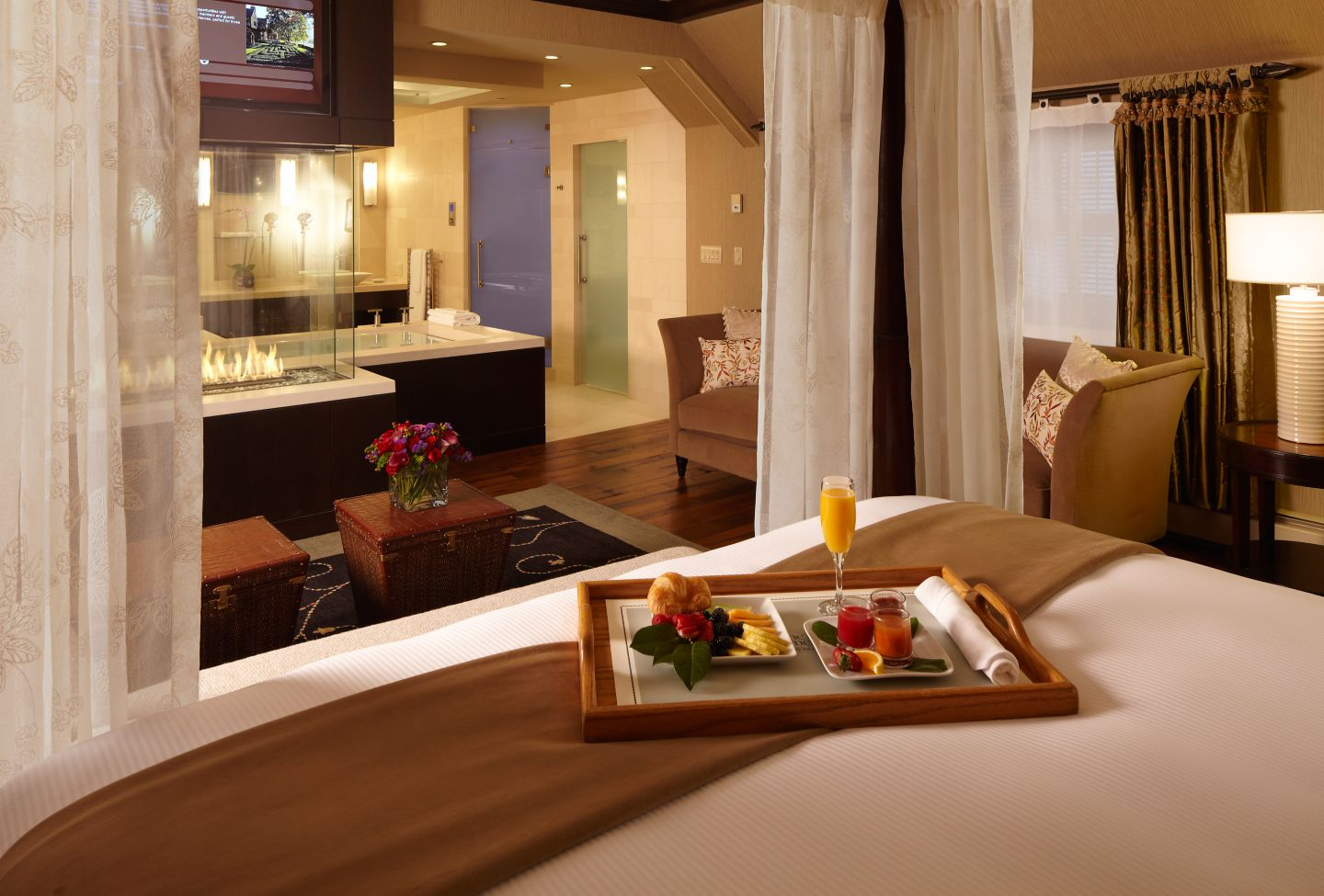 This is the Eau de Vie Suite at The American Club