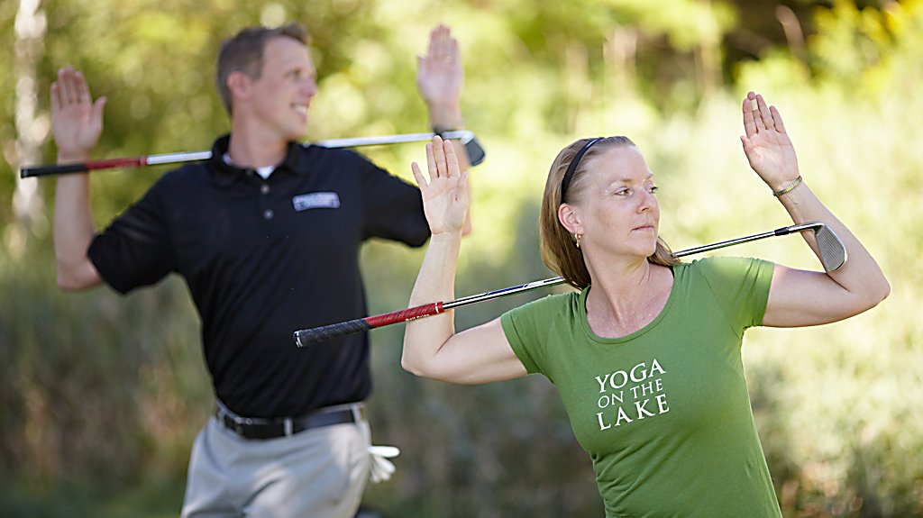 Golf Fitness with Sports Core and Yoga on the Lake