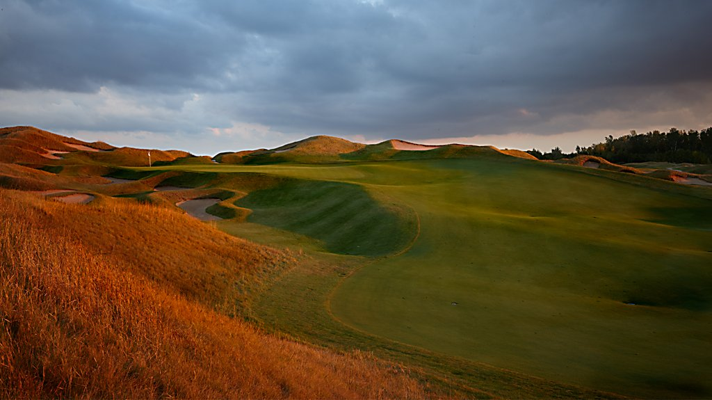 Irish at Whistling Straits - Hole 1 High Ground