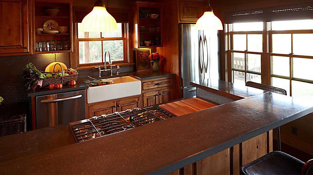Sandhill Cabin Kitchen