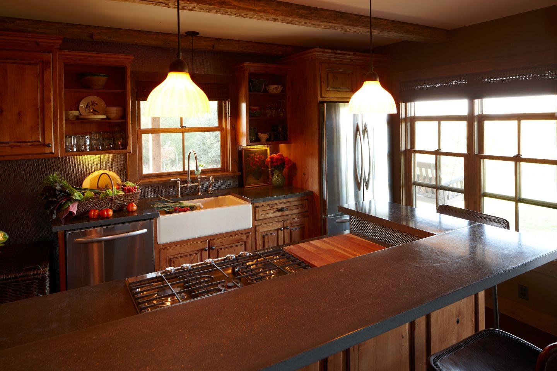 Kitchen at Sandhill
