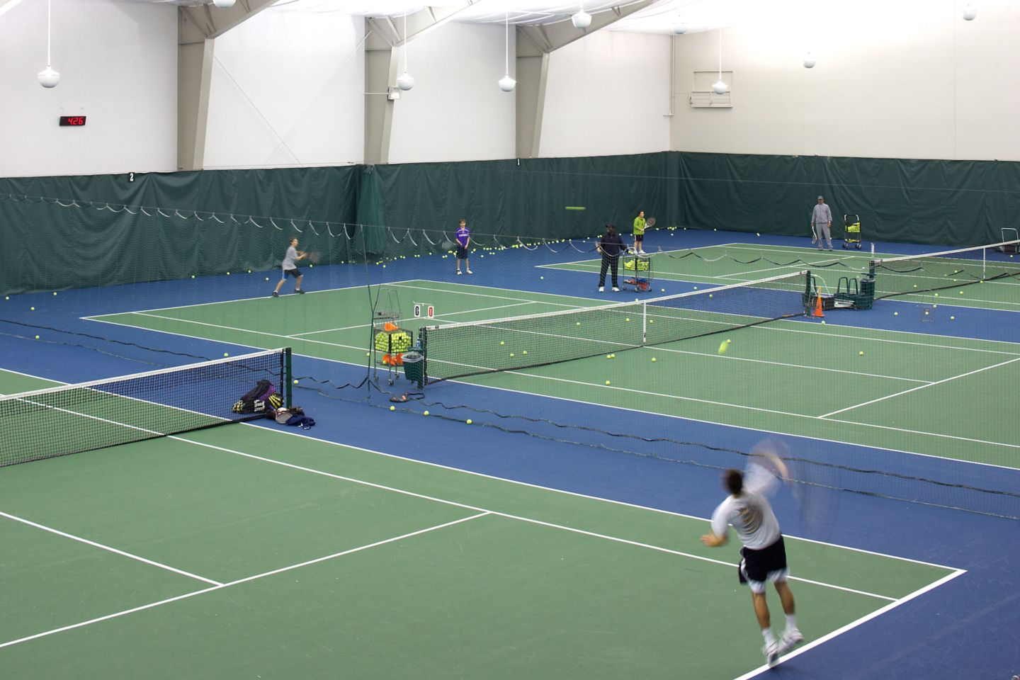 Sports Core indoor tennis courts