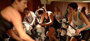 Cycling at Sports Core