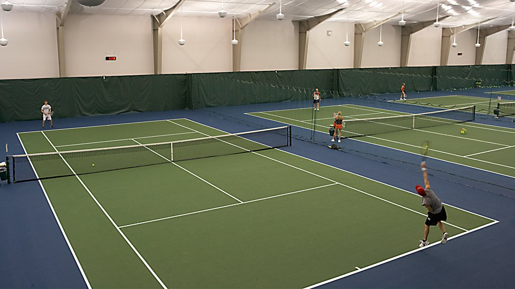 Indoor Tennis Courts at Sports Core