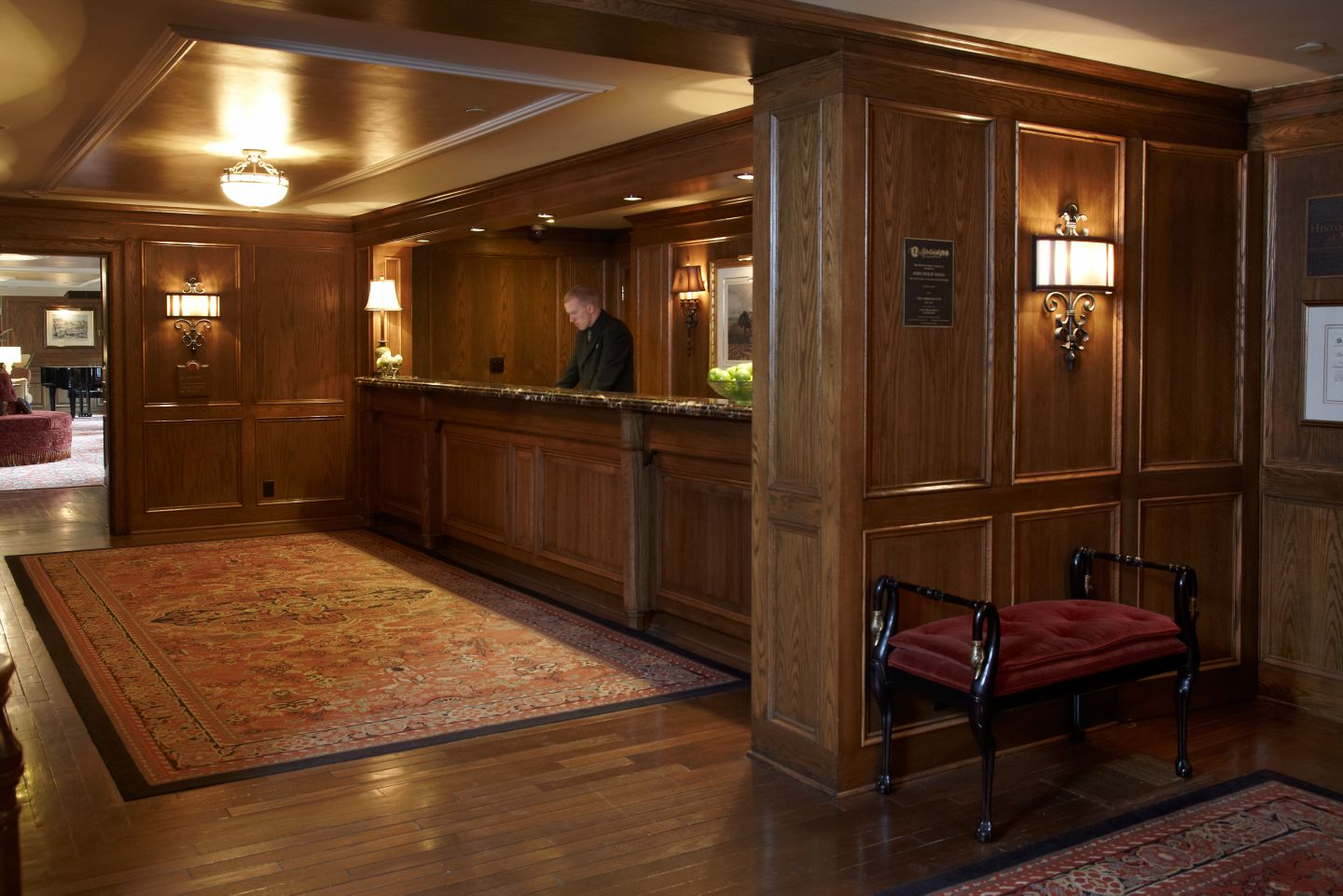 The American Club Front Desk