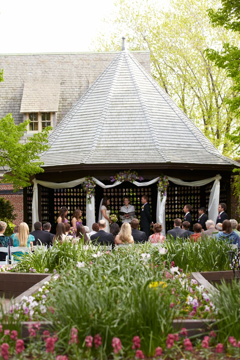 The American Club Outdoor Wedding Ceremony