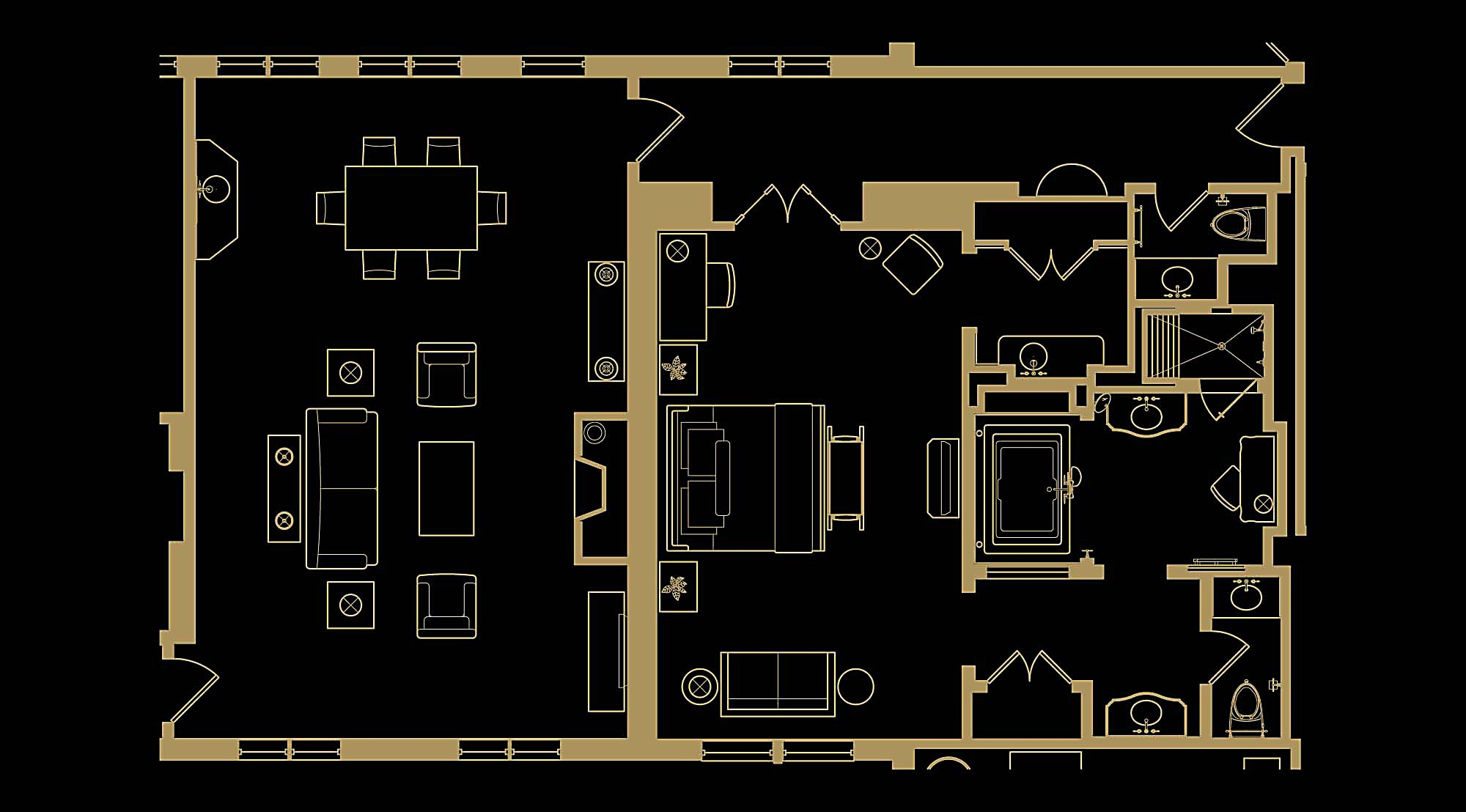 Presidential Floor plan