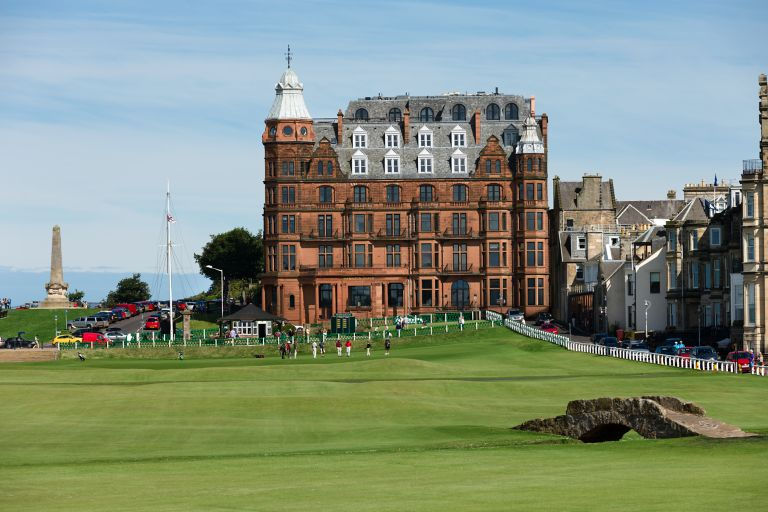 Hamilton Grand overlooking the 18th green of the Old Course