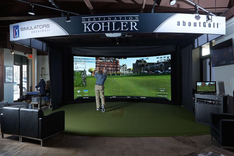 Kohler Swing Studio bar and restaurant
