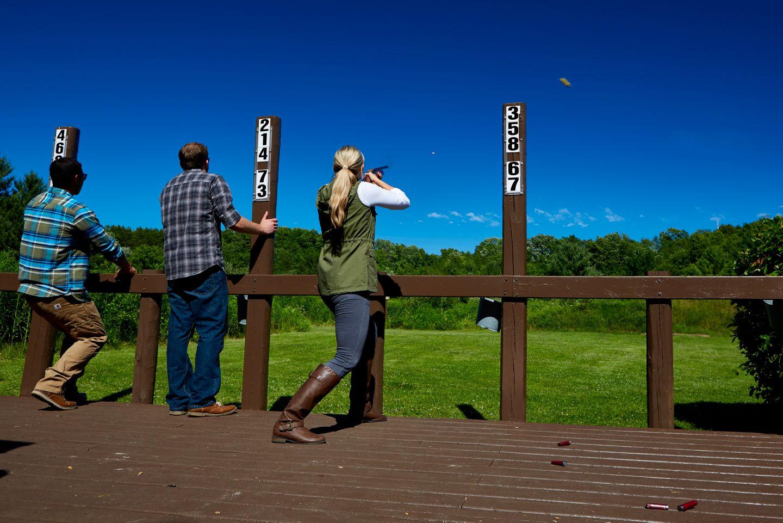 trap shooting at River Wildlife