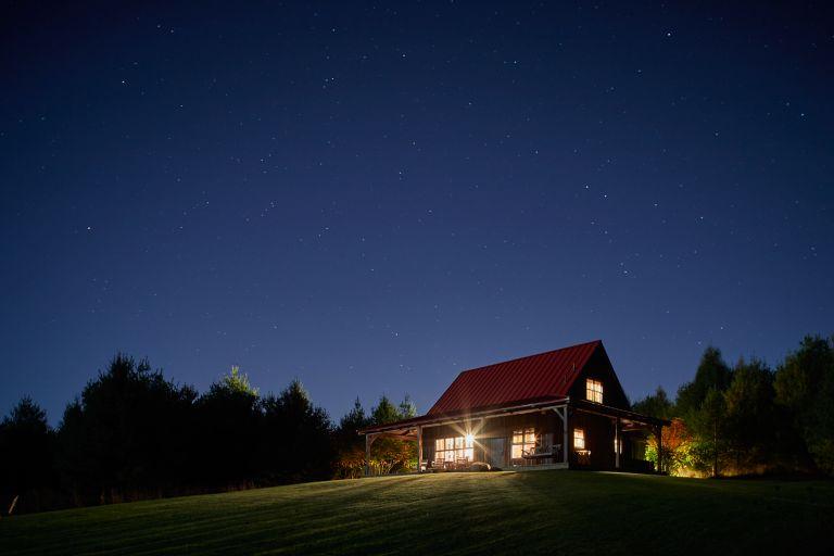 Sandhill Cabin exterior
