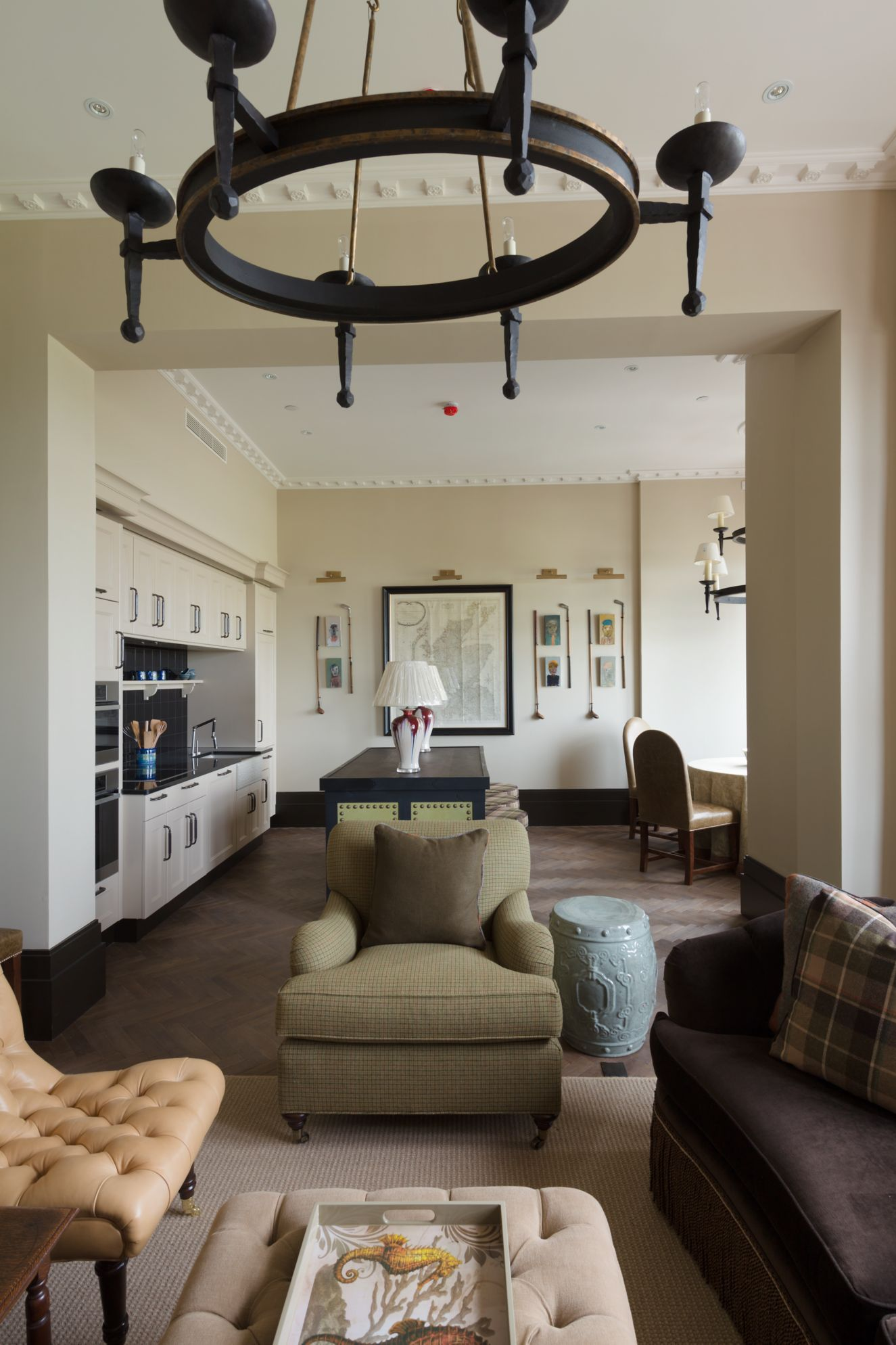 Hamilton Grand living room