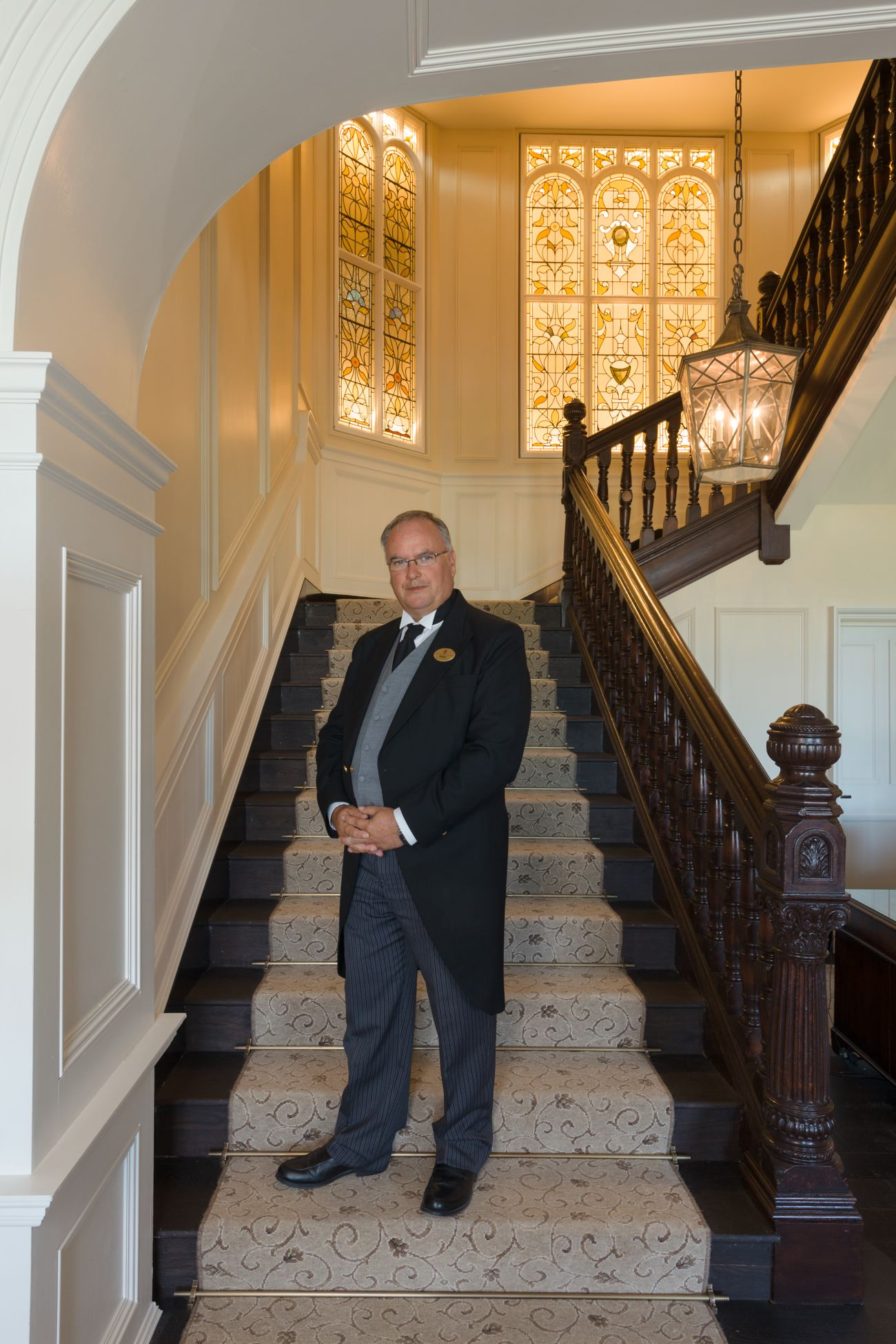 Head butler at Hamilton Grand in St Andrews