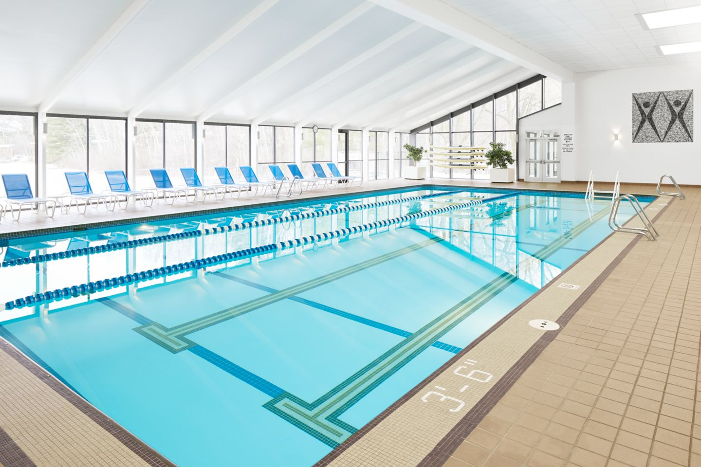 Indoor pool at Sports Core