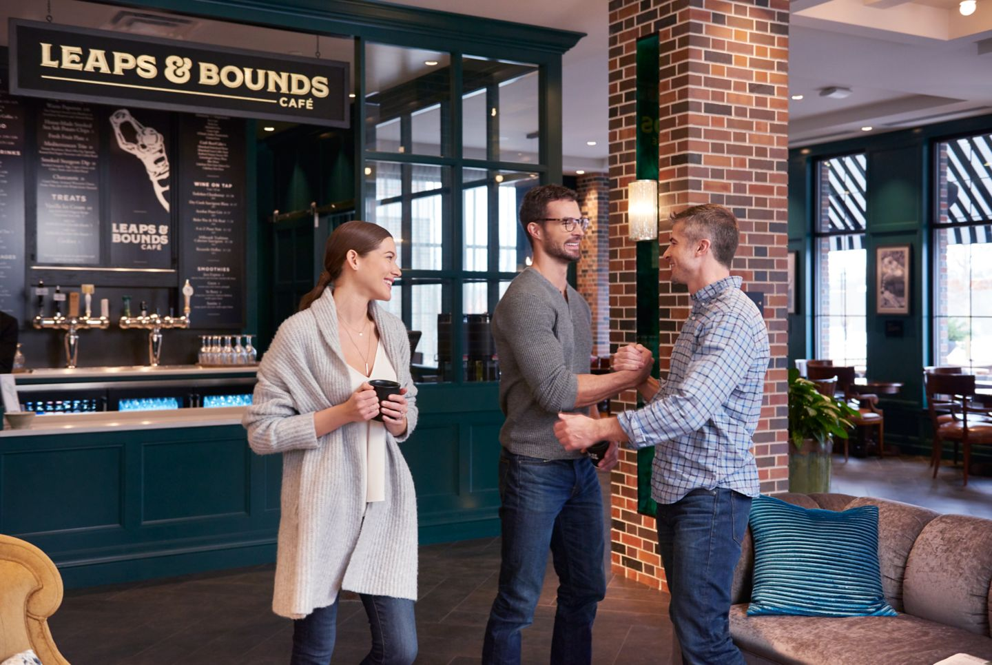 Leaps & Bounds Café
