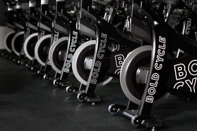 A class inside Bold Cycle at the Shops on Woodlake