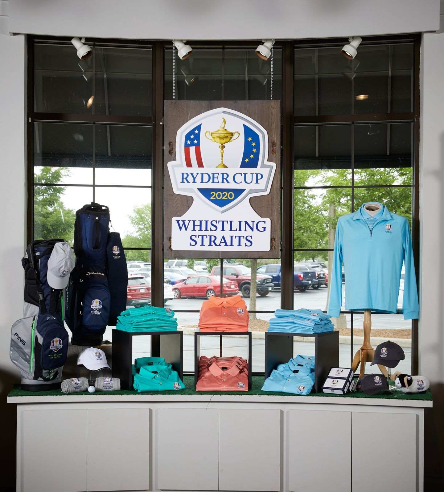 Golf apparel at Kohler Swing Studio