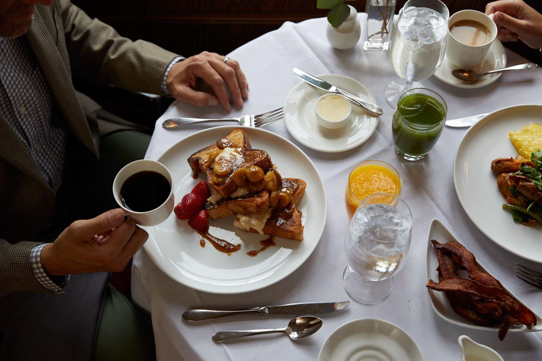 The Wisconsin Room cuisine