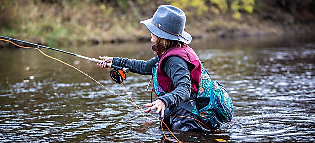 Fly Fishing in the Sheboygan River