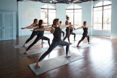 Yoga on the Lake Studio at the Shops at Woodlake.