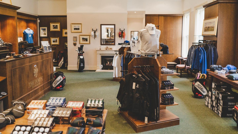 The Duke's Pro Shop.