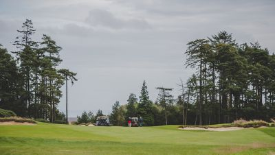 4th hole of the Duke's Golf Course, St Andrews