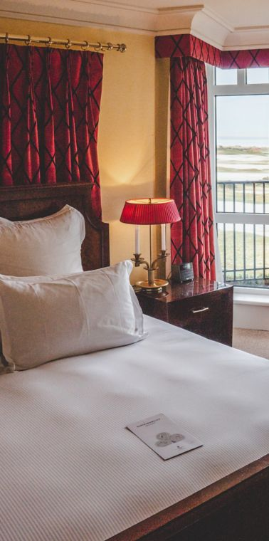 Deluxe suite in the Old Course Hotel, Golf Resort & Spa