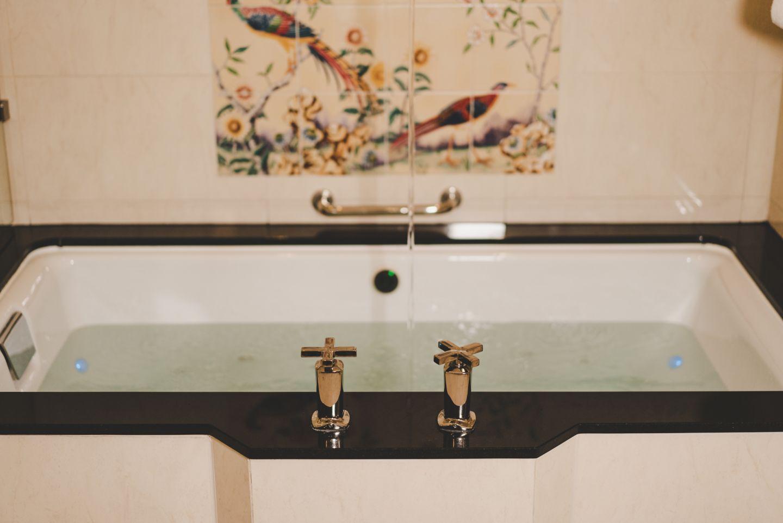 Kohler Chromatherapy Bath at the Old Course Hotel, Golf Resort & Spa