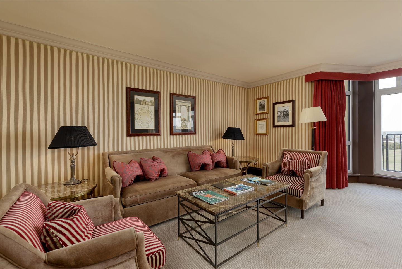 Old Course Suite lounge area