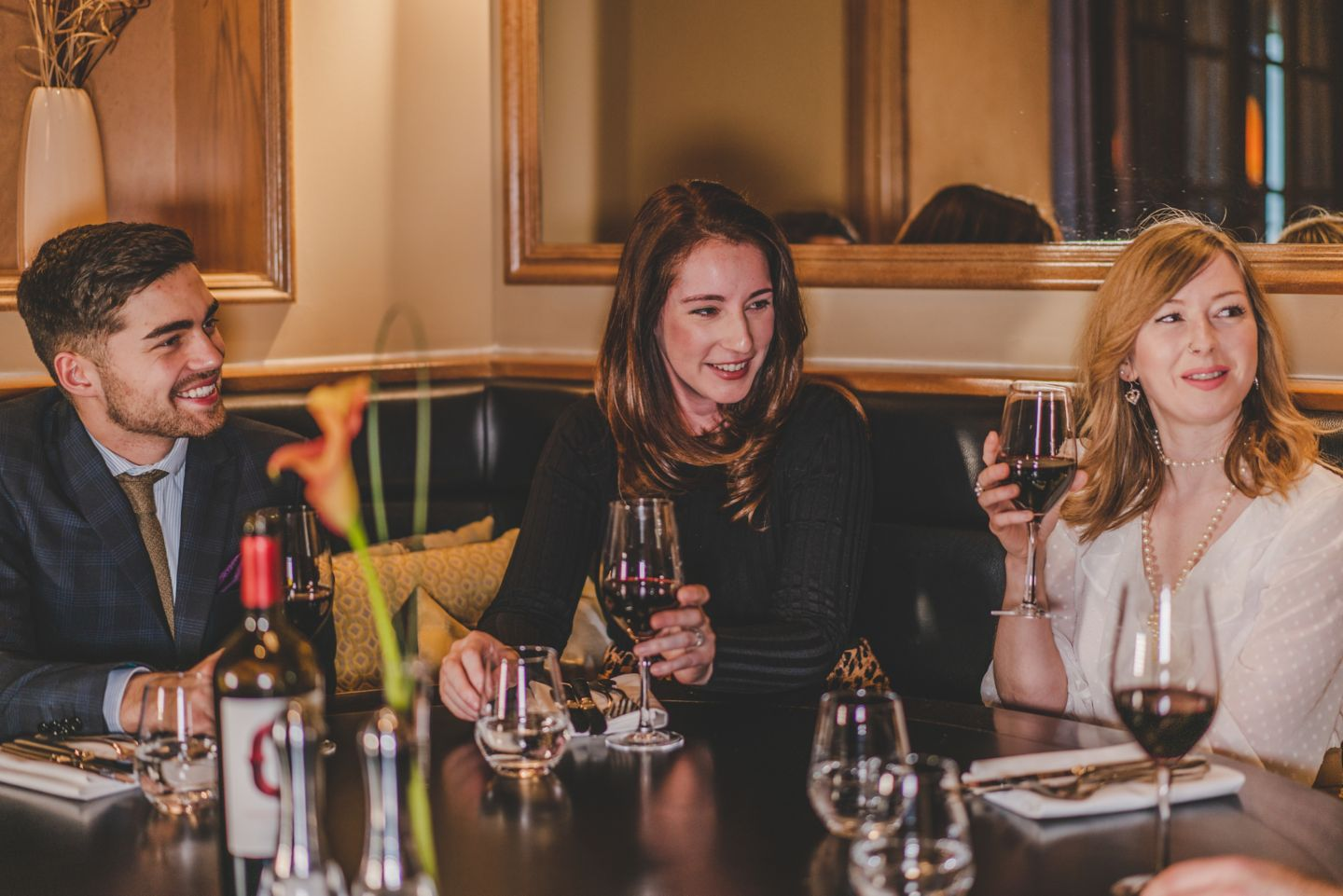 Group wine tasting, Old Course Hotel, Golf Resort & Spa