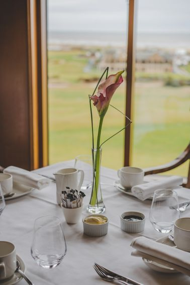 Tea and Scones at the Old Course Hotel, Golf Resort & Spa