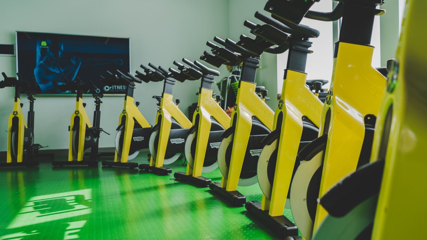 Kohler Waters Fitness Centre spin studio