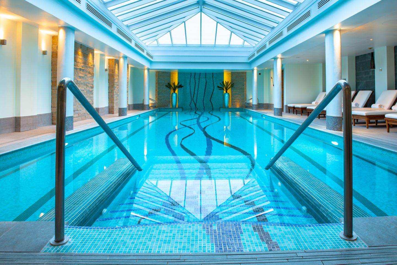 Spa pool at the relaxing Kohler Waters Spa in St Andrews