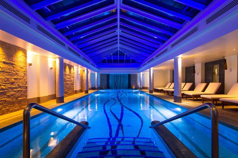 Relaxing spa pool at Kohler Waters Spa, St Andrews