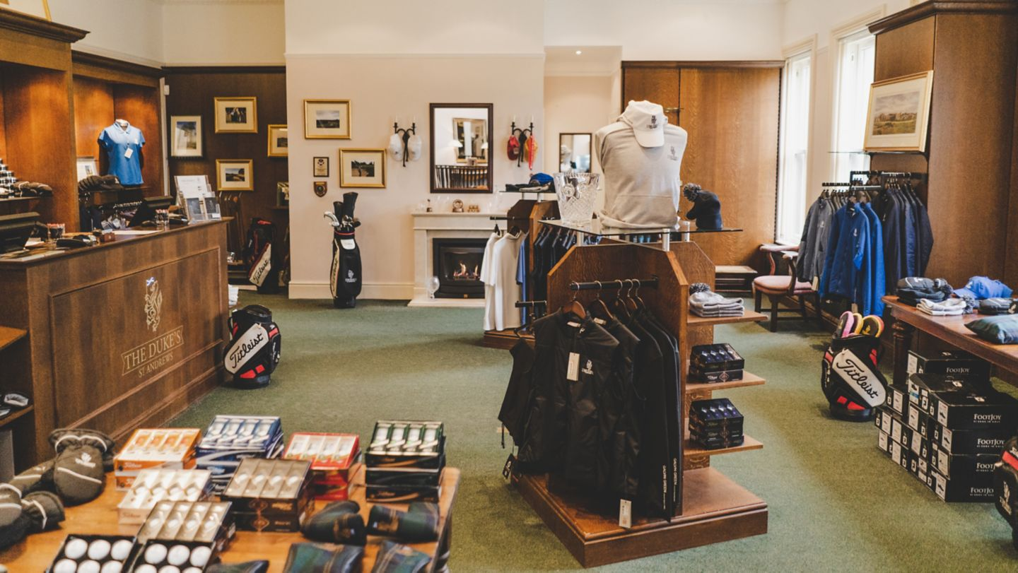 The Pro Shop at The Duke's, St Andrews