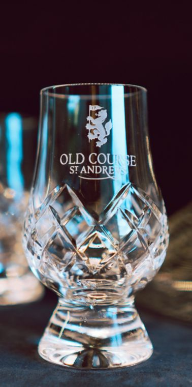 Old Course Hotel crystal glass