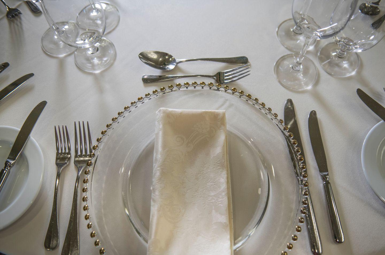 Dining set up Old Course Hotel, Golf Resort & Spa
