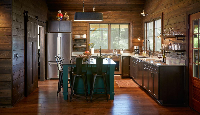 Pond Cabin Kitchen