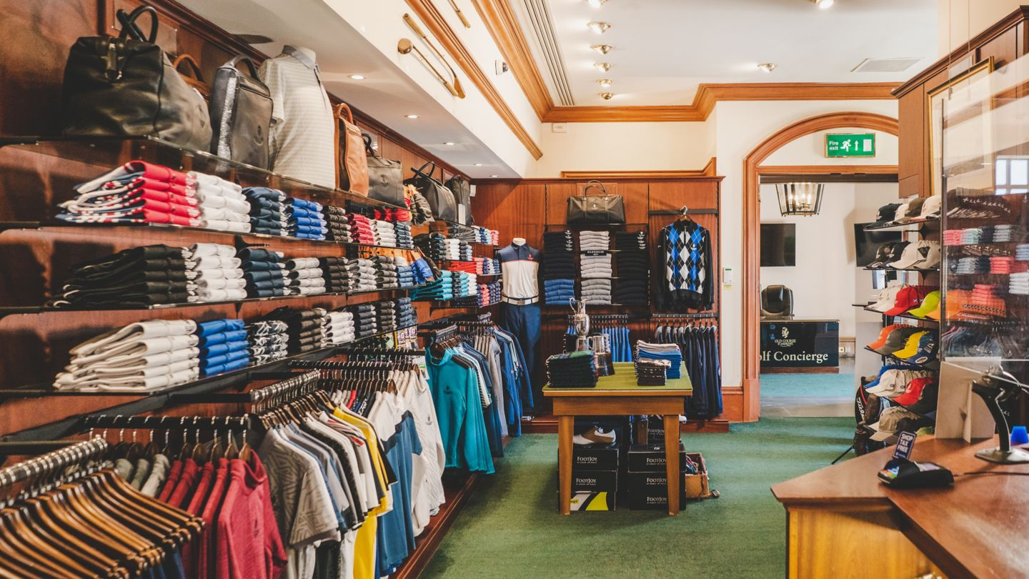 The Pro Shop at the Old Course Hotel, Golf Resort & Spa