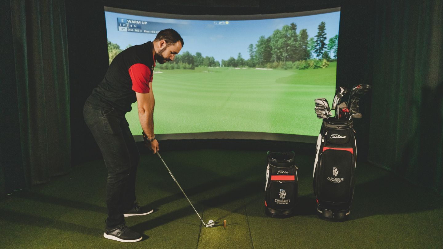 Swing Studio Golf Simulation at the Old Course Hotel, Golf Resort & Spa, St Andrews