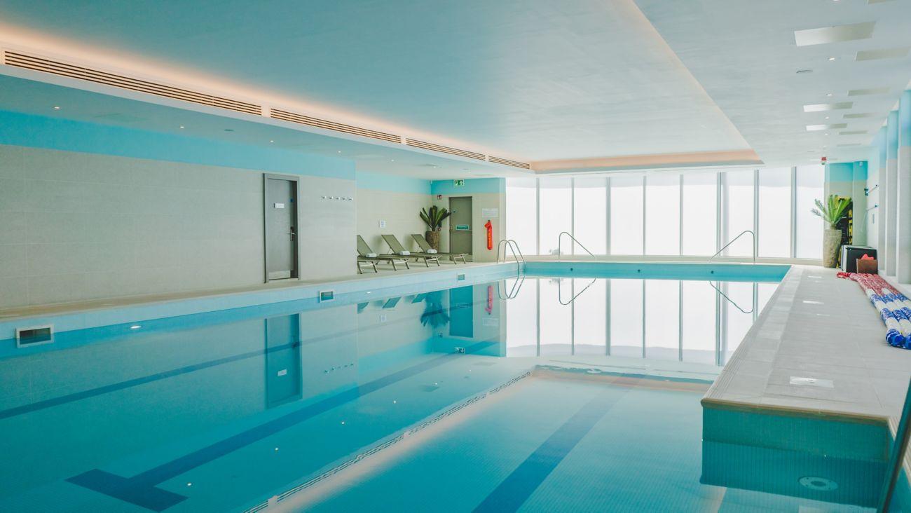 Kohler Waters Spa Fitness Centre lap pool.